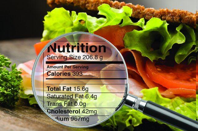 Apprendre à lire et comprendre une étiquette alimentaire